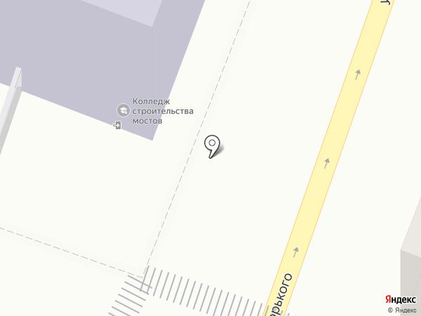 Саратовский колледж строительства мостов и гидротехнических сооружений на карте Саратова