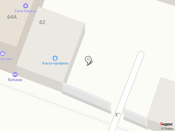 Дверь Ленд на карте Саратова