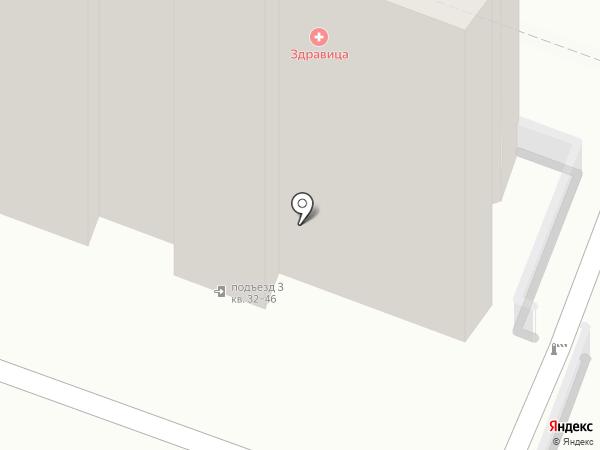 Леди Маски на карте Саратова