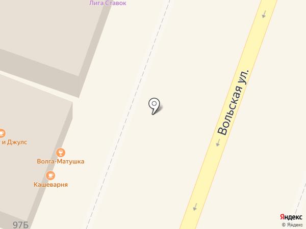 Банкомат, КБ Опм-банк на карте Саратова
