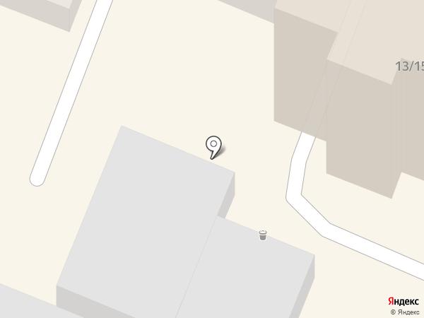 Горожанка на карте Саратова