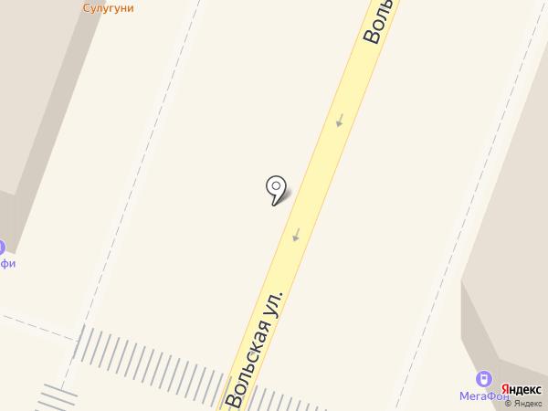 Шашлычный дом на карте Саратова