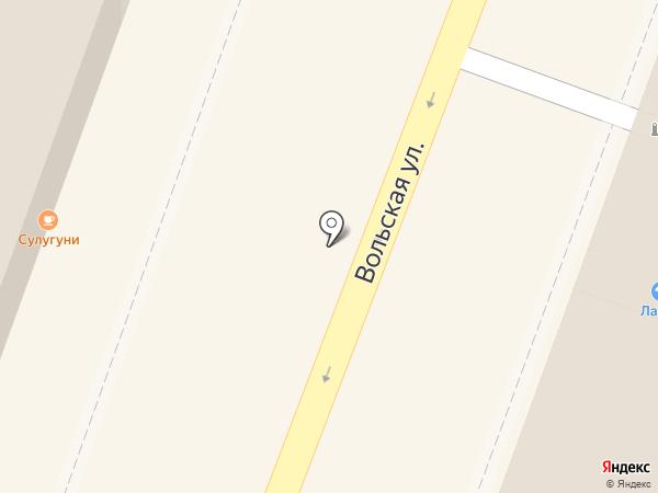 Нью Касл на карте Саратова