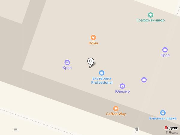 Авеню-Элеганс на карте Саратова