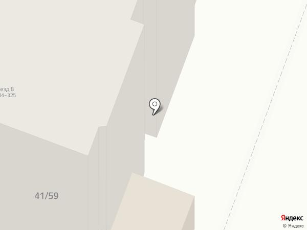 Балаганчикъ на карте Саратова