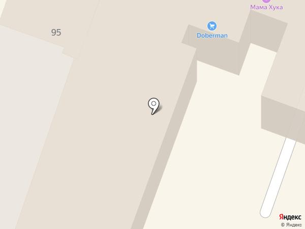 Trend на карте Саратова