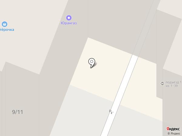 Золотое Яблоко на карте Саратова