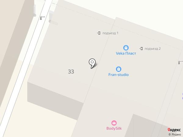 Орифлэйм на карте Саратова