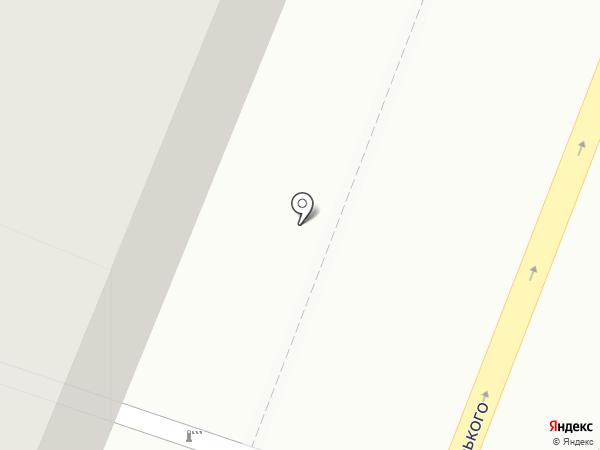 Молчанов на карте Саратова