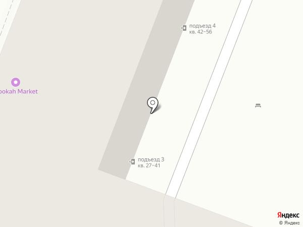 Домовой на карте Саратова
