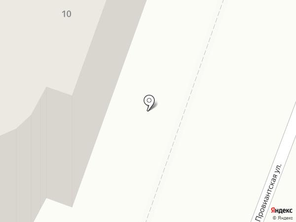 Джим на карте Саратова