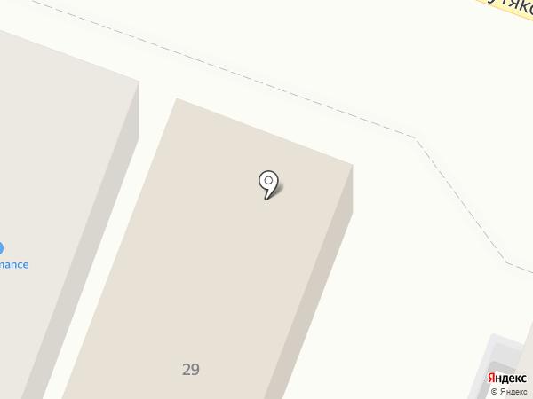 Дверка на карте Саратова