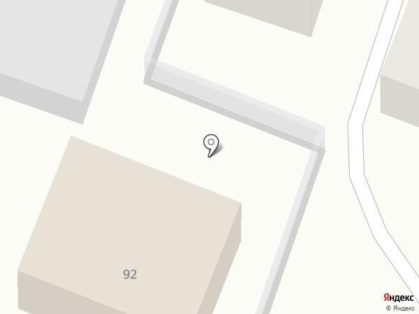 ССВС на карте Саратова