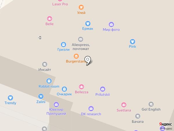 Bellezza на карте Саратова