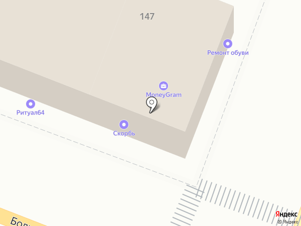 ПЯТНИЦА на карте Саратова