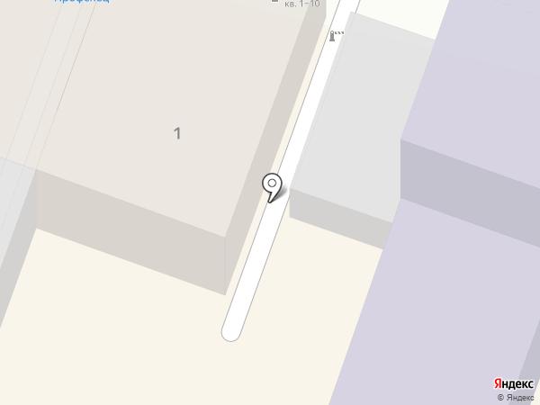 Байкстиль на карте Саратова