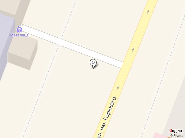 Киоск фастфудной продукции на карте Саратова