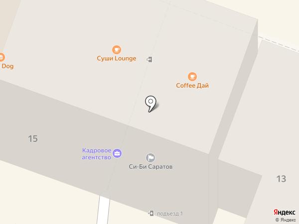 BEST на карте Саратова