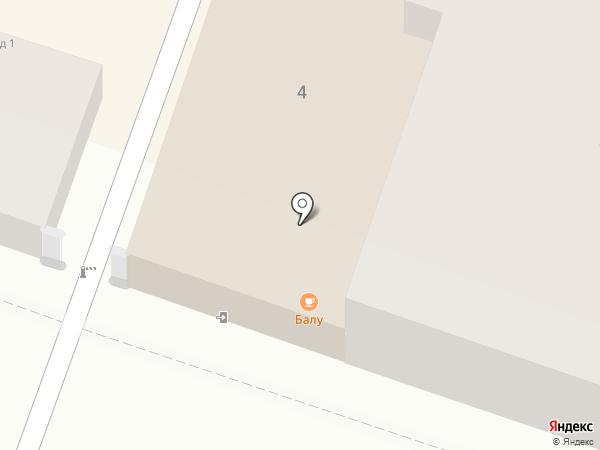 Грани на карте Саратова