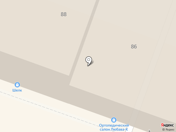 Гермес-З на карте Саратова