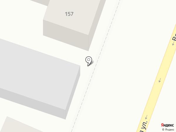 Термо на карте Саратова