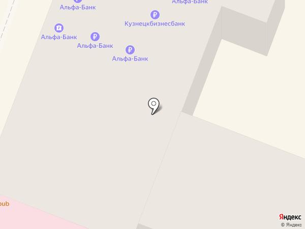 Рублёвка на карте Саратова