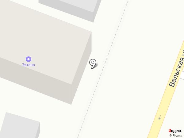 Центр погрузчиков Эстано на карте Саратова