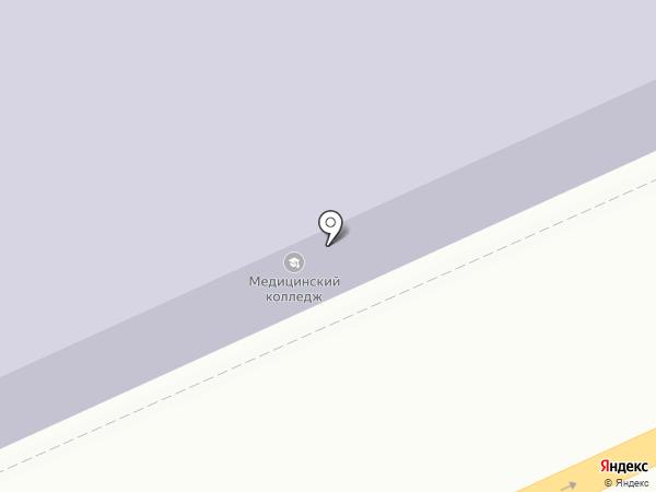 Саратовский областной базовый медицинский колледж на карте Саратова