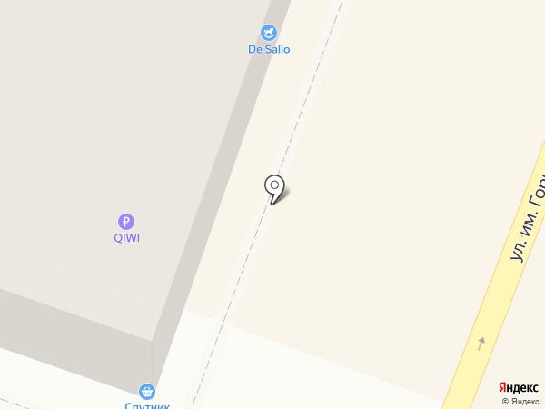 Свет на карте Саратова