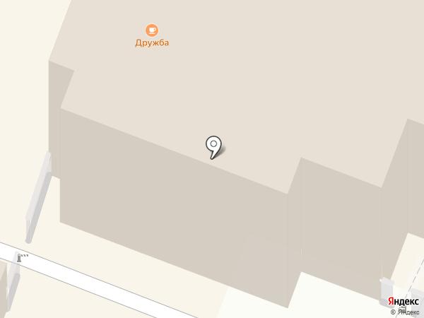 Брусника на карте Саратова