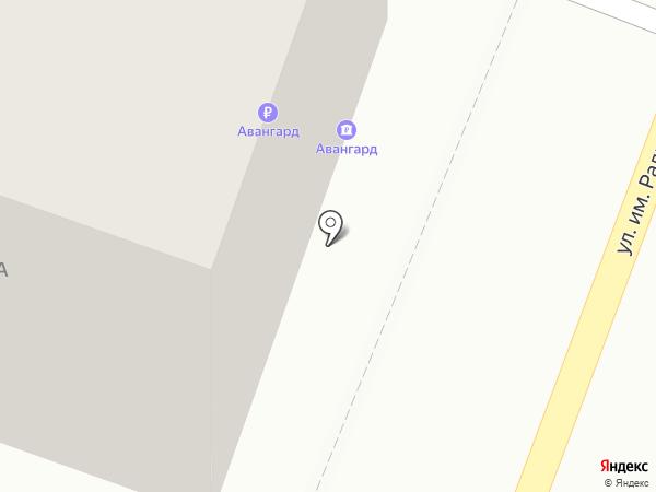 АКБ Авангард на карте Саратова