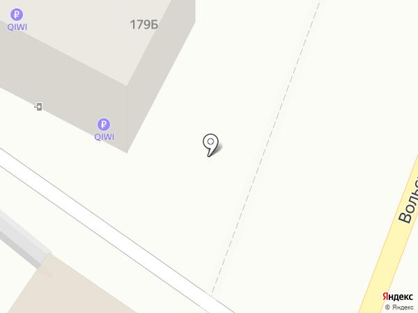 Гостиничный комплекс на карте Саратова