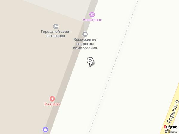 Альянс на карте Саратова