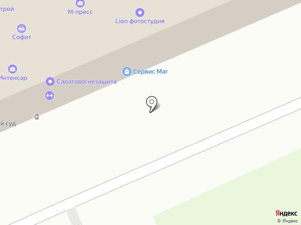 Эй-Би-Си на карте Саратова