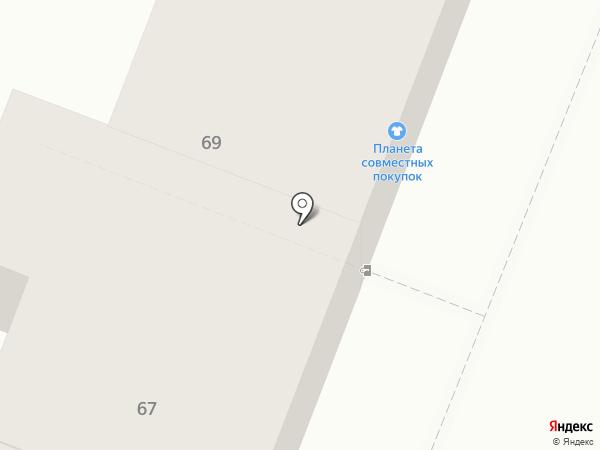 ZIP-Сервис на карте Саратова