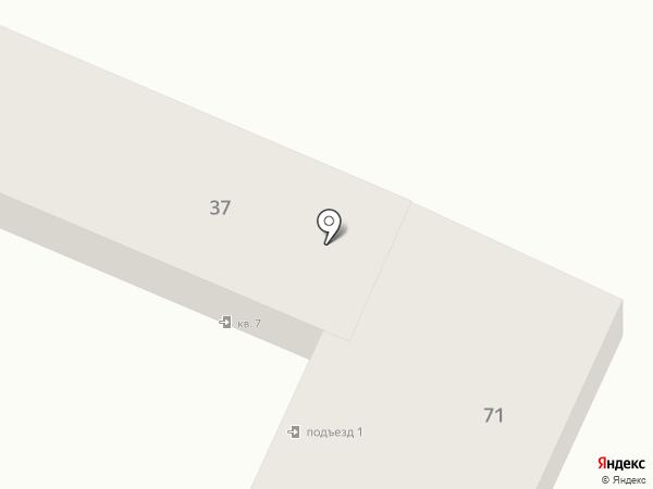 Ландыш серебристый на карте Саратова