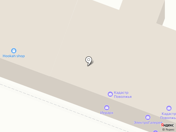 Ли Вест на карте Саратова