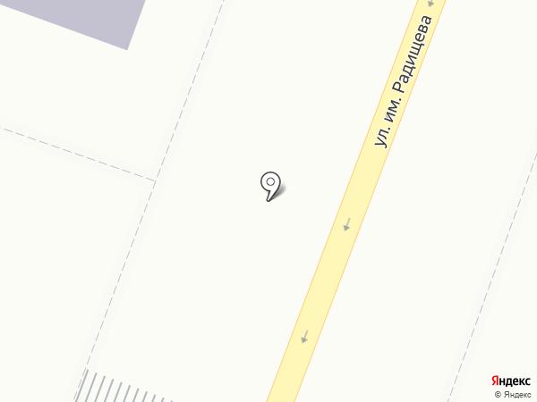 Пресс-Инвест на карте Саратова