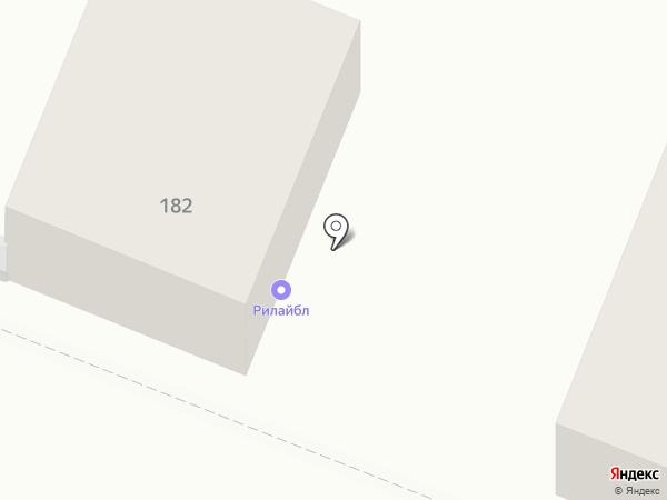 Рилайбл на карте Саратова