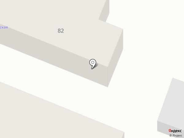 Парикмахерская на карте Саратова