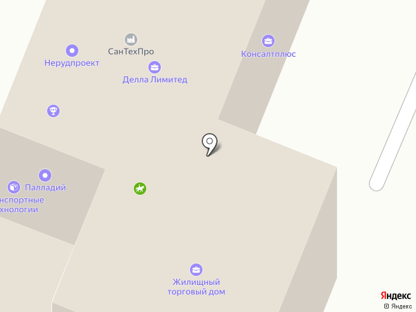 Камелот на карте Саратова