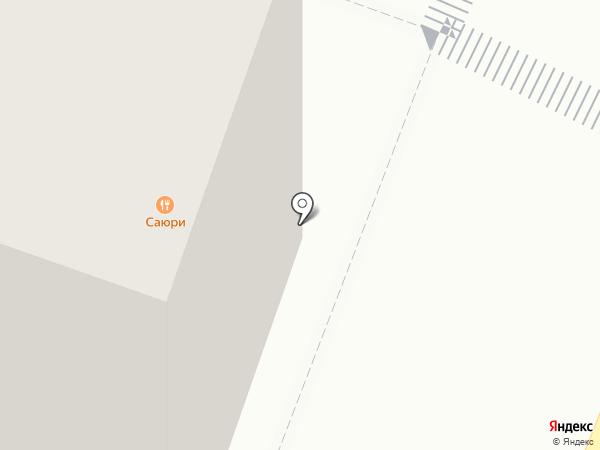 Вершина на карте Саратова