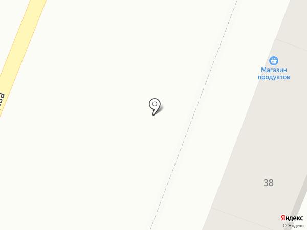Киоск по продаже фастфудной продукции на карте Саратова