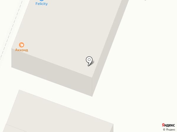 Лисья нора на карте Саратова