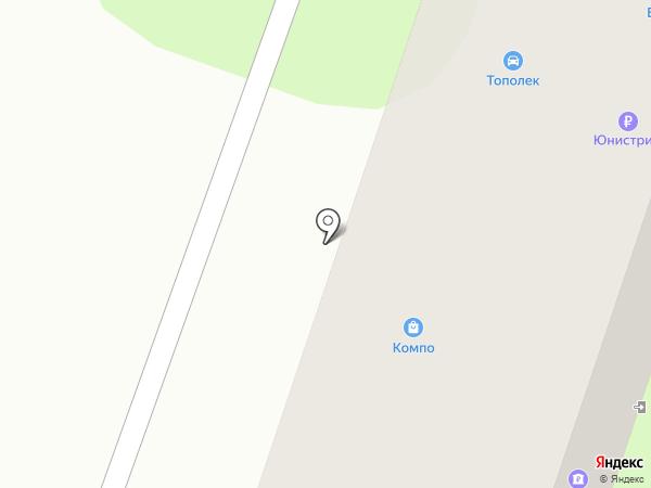 Тополёк на карте Приволжского
