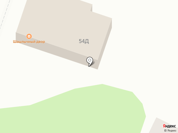 Шашлычный двор на карте Саратова