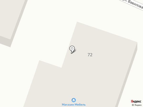 Мебельный салон на карте Приволжского
