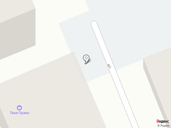 Волжская на карте Саратова