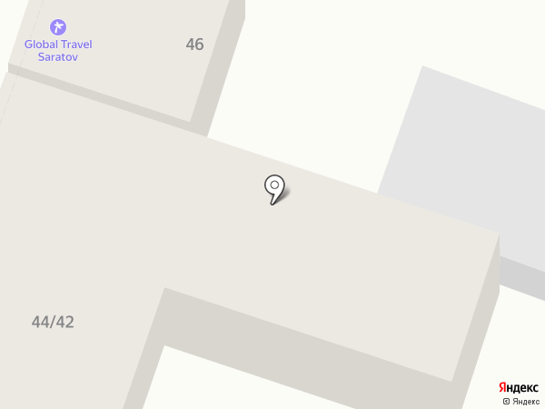 Михайловская курочка на карте Саратова
