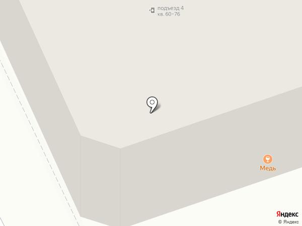 Медь на карте Саратова